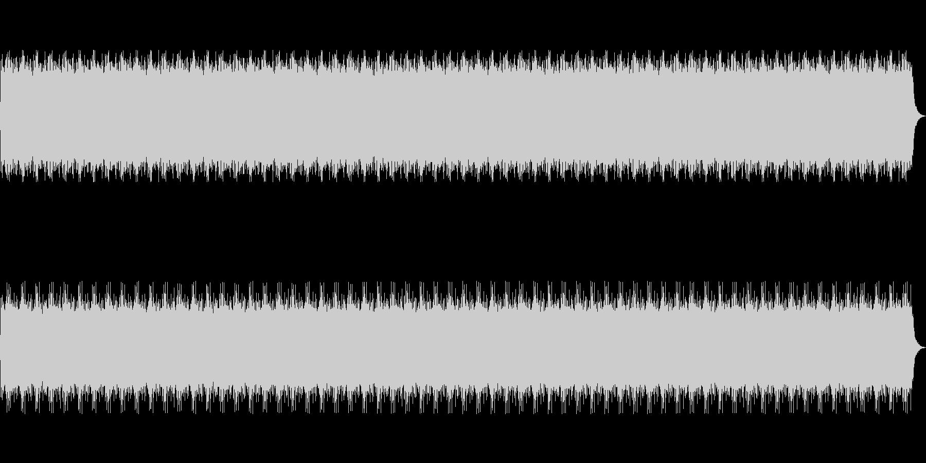和をイメージしたループBGMの未再生の波形