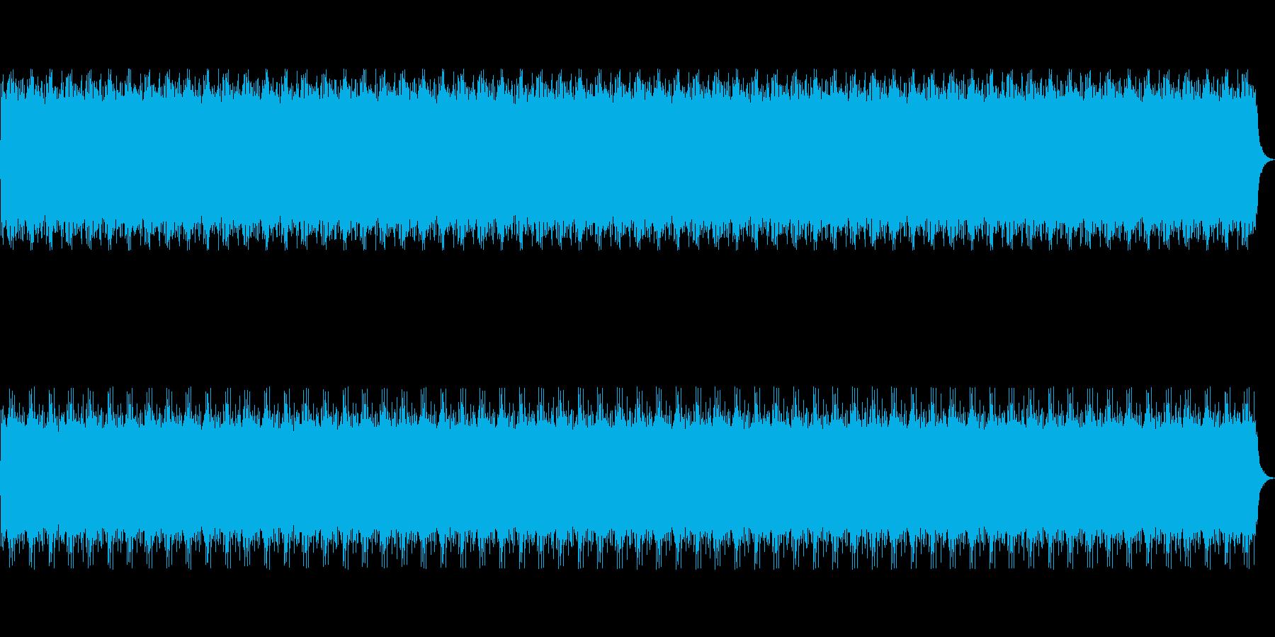和をイメージしたループBGMの再生済みの波形
