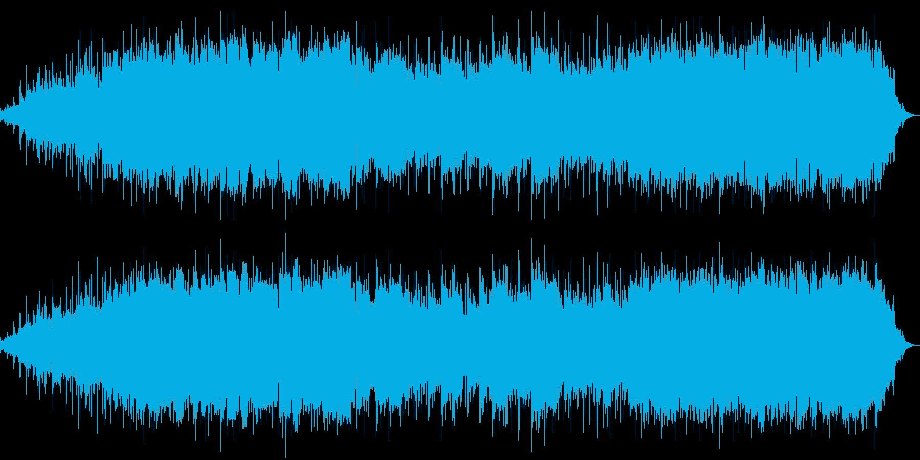 気持ちの和らぐポップスの再生済みの波形