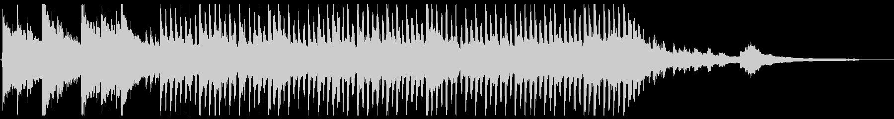 明るいクリーンなコーポレート1_50秒の未再生の波形