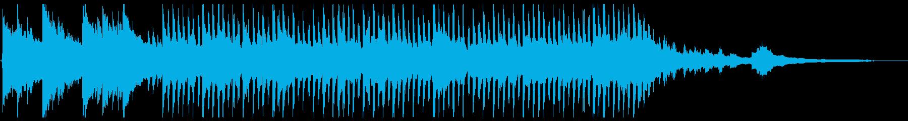 ゆったり目の明るいコーポレート_50秒の再生済みの波形
