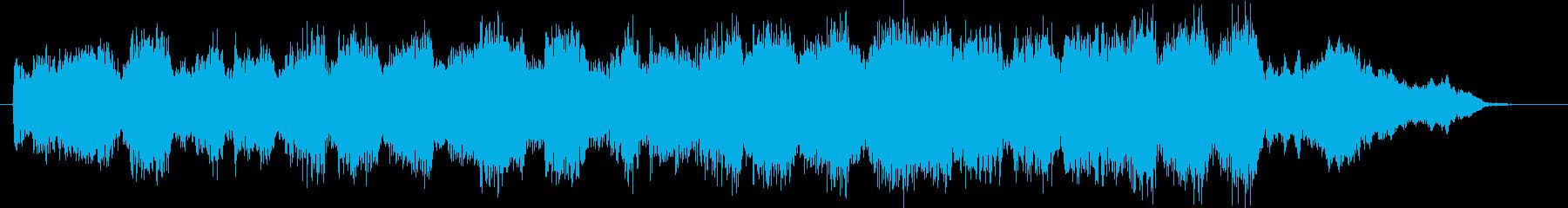 CMや映像、ピアノ、ストリングス、30秒の再生済みの波形
