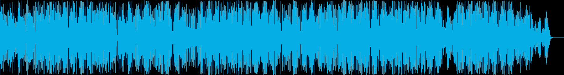 ダーク的でリズム良いポップ調の再生済みの波形