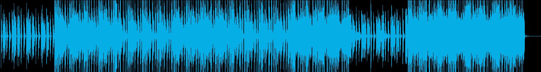 ワントーンテクノの再生済みの波形