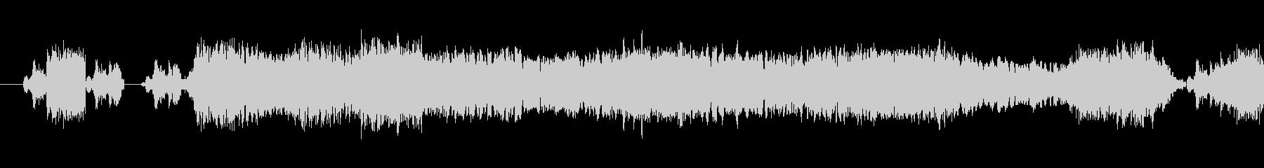 159 黒板をひっかく音1の未再生の波形