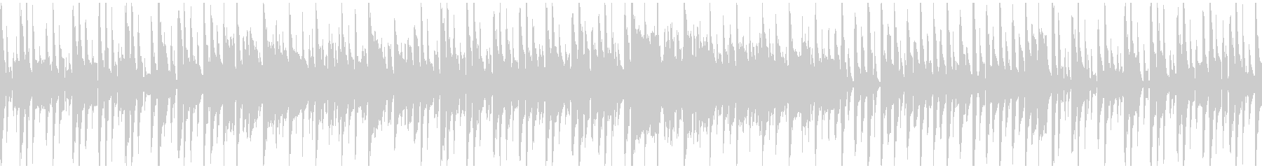 ゆるいぐうたら系リコーダー ※ループ版の未再生の波形
