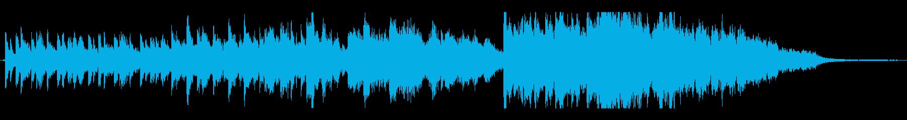 30秒CM明るく爽快ポップなオーケストラの再生済みの波形