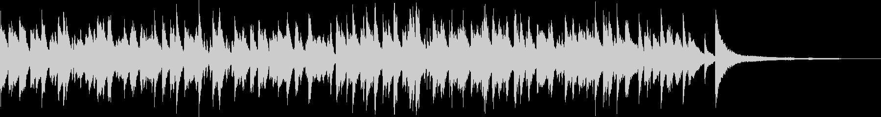 「いつか王子様が」ボサノバ/ピアノトリオの未再生の波形