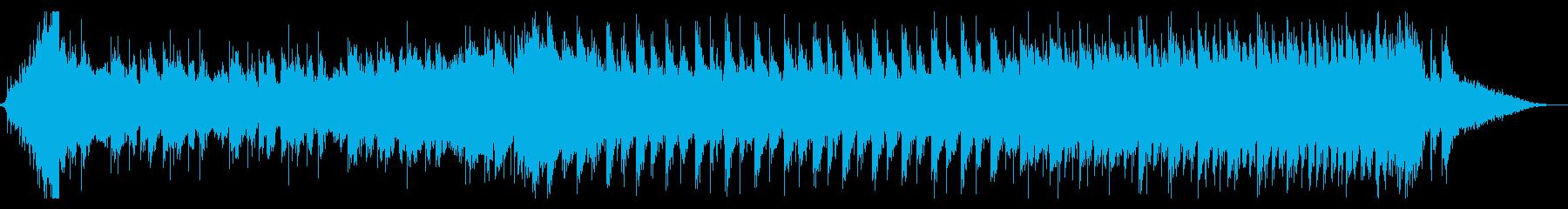 Rock&EDM風の出囃子BGMの再生済みの波形