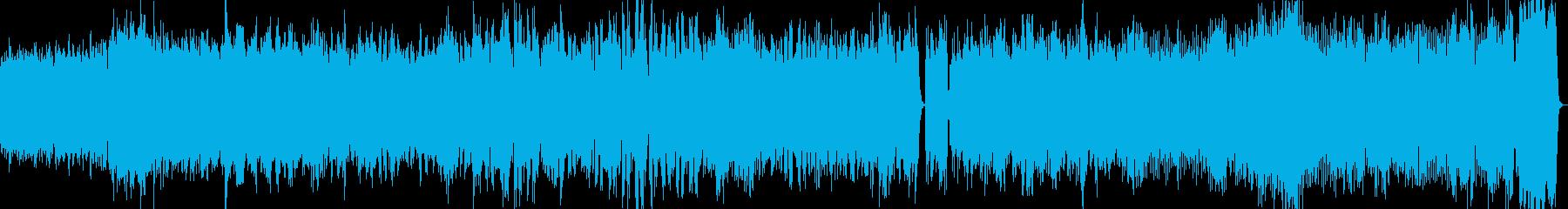 ダークで悲壮感の漂うストリングス曲の再生済みの波形
