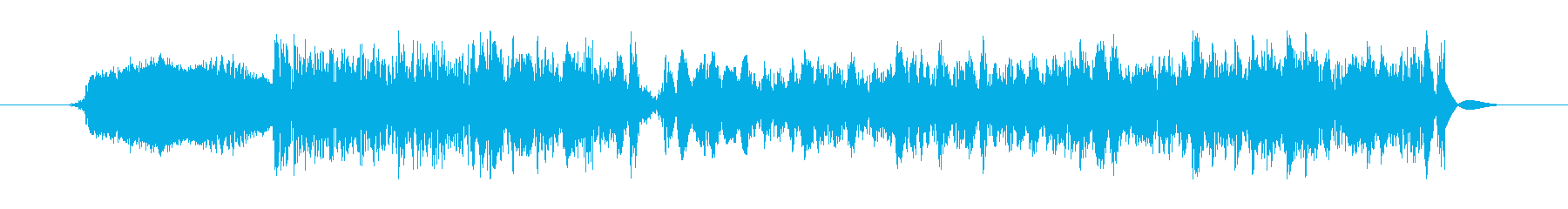ハイパーブレーキ遷移の再生済みの波形