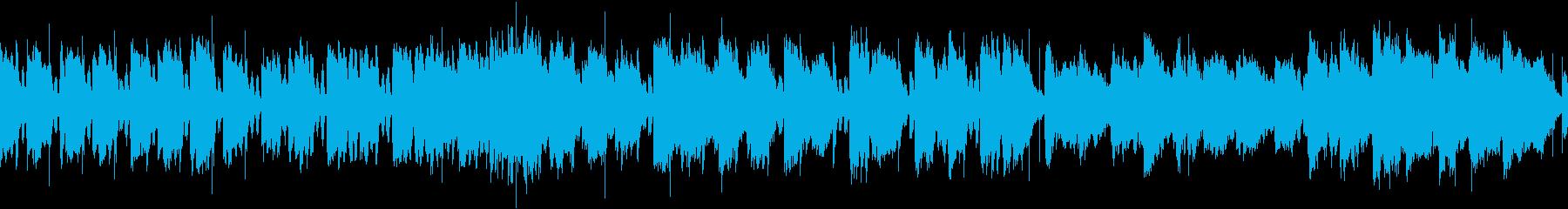 ロック エレキギター 調波 ヘヴィロックの再生済みの波形