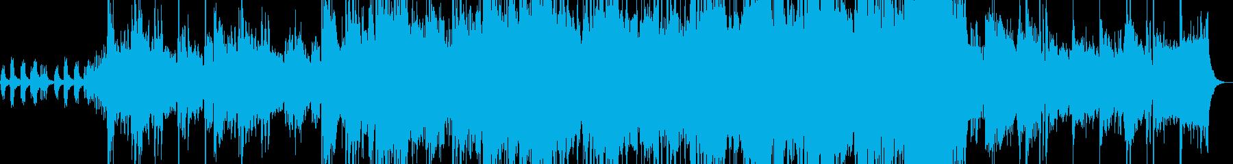 ストリングスが印象的な劇版曲の再生済みの波形