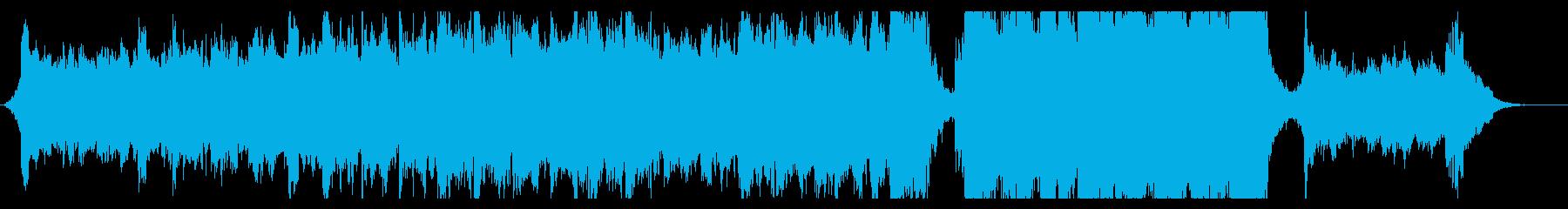 ハリウッド映画風の壮大なオーケストラ7Aの再生済みの波形