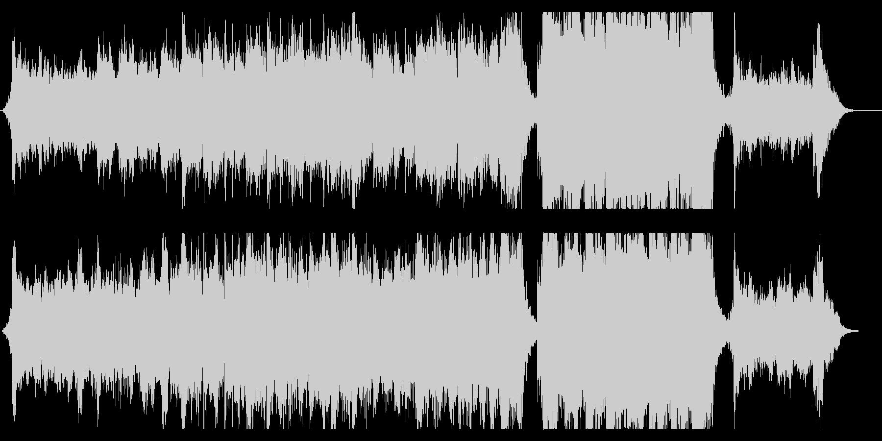 ハリウッド映画風の壮大なオーケストラ7Aの未再生の波形