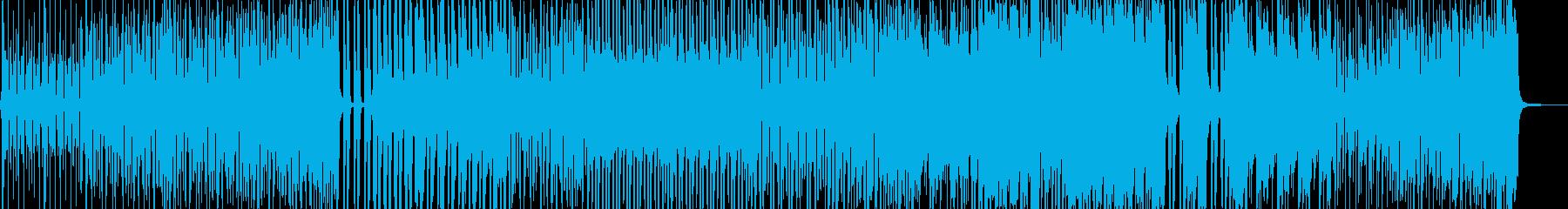 七変化アニメーションダンス調ポップ Aの再生済みの波形