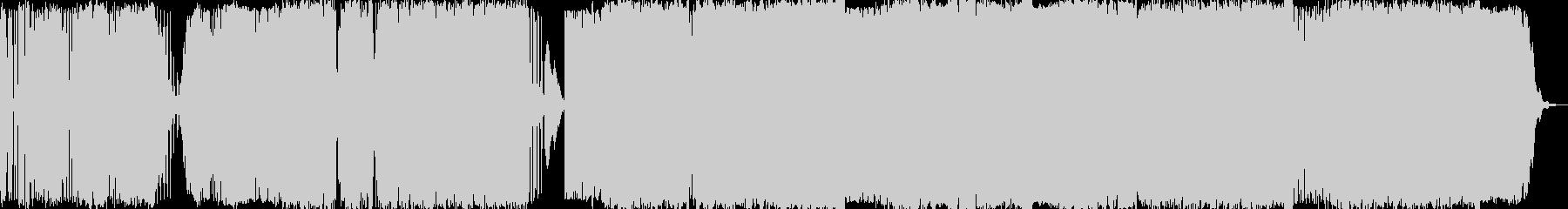 エレクトロ 技術的な 説明的 静か...の未再生の波形