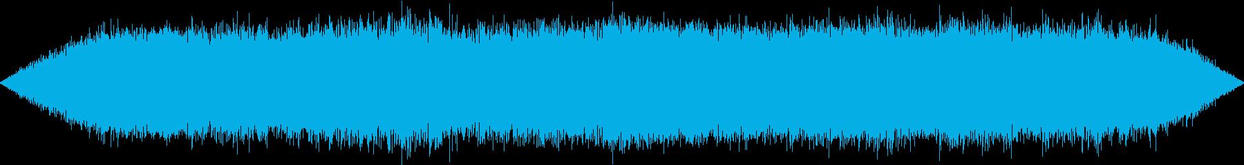 【生録音】初夏の夜の環境音 虫の声 1の再生済みの波形