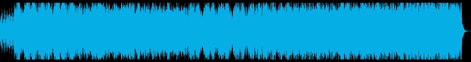 伝説の空へ 爽快なファンタジーBGMの再生済みの波形