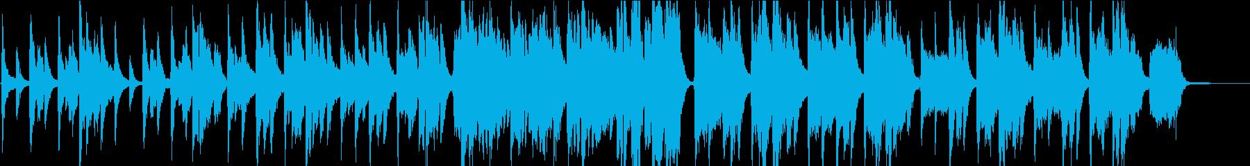 コーラス綺麗「ほたるこい」ピアノ弾き語りの再生済みの波形