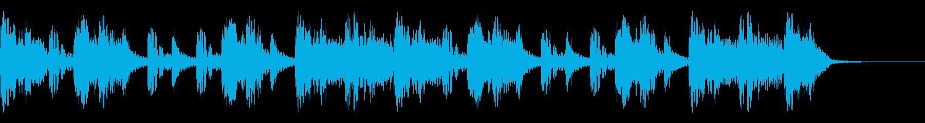 ヒップダンスグルーブの再生済みの波形