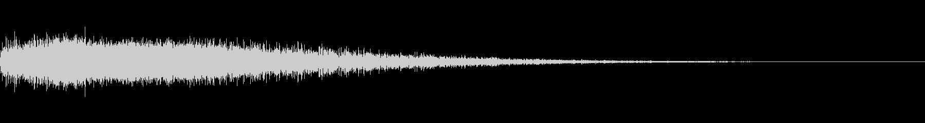 フーシー5ヘビーシンセフーシュの未再生の波形