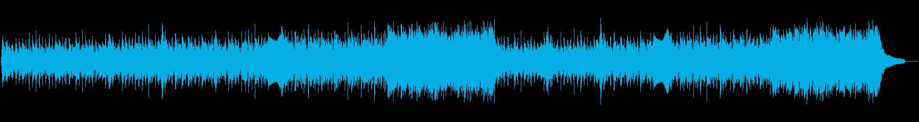 企業VP映像、176オーケストラ、爽快Lの再生済みの波形