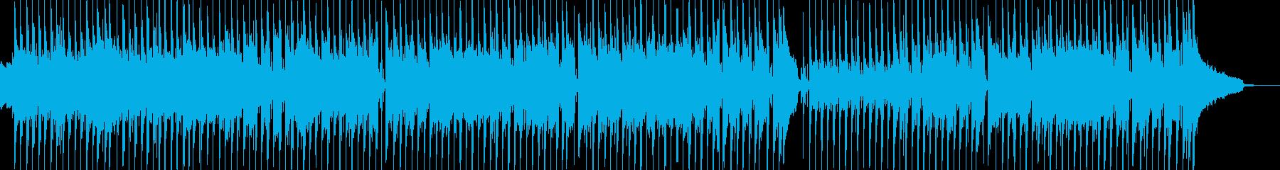 日常的・ほのぼの打楽器ポップス 短尺★の再生済みの波形