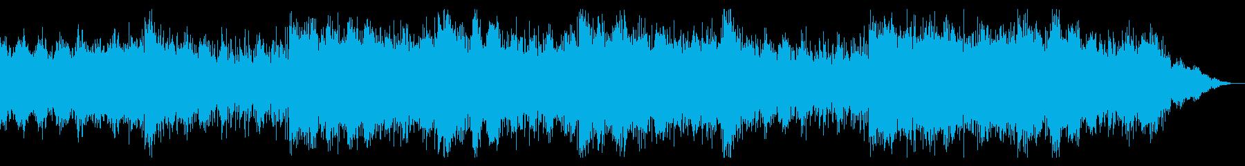 デジタルなテクスチャIDMの再生済みの波形