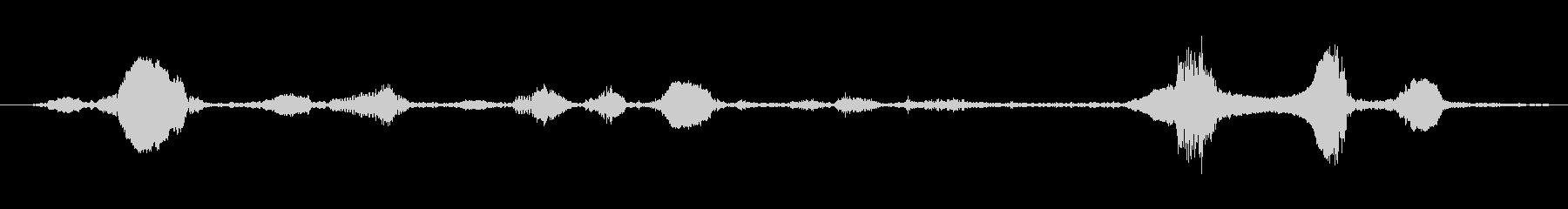 ロバ ブレイクラシック01の未再生の波形