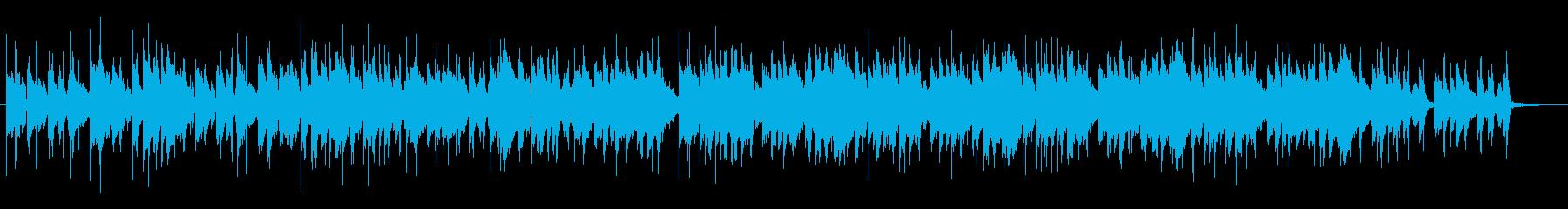 スイングポップス(ピアノとベル)の再生済みの波形