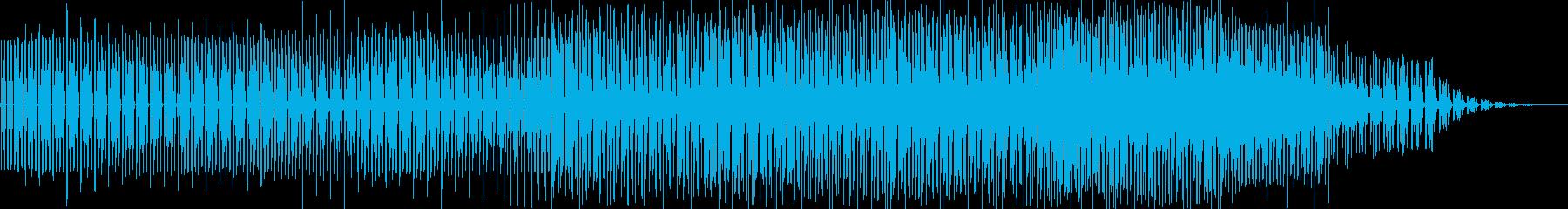 壮大な雰囲気のミニマルテクノの再生済みの波形