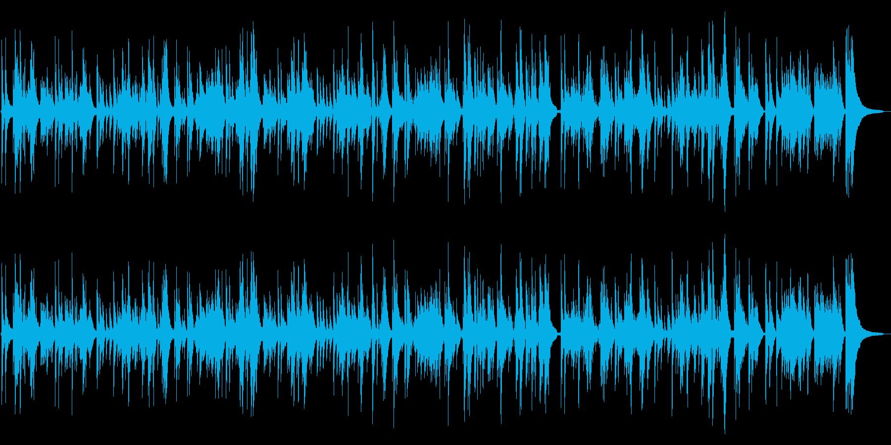 Blue Lightの再生済みの波形