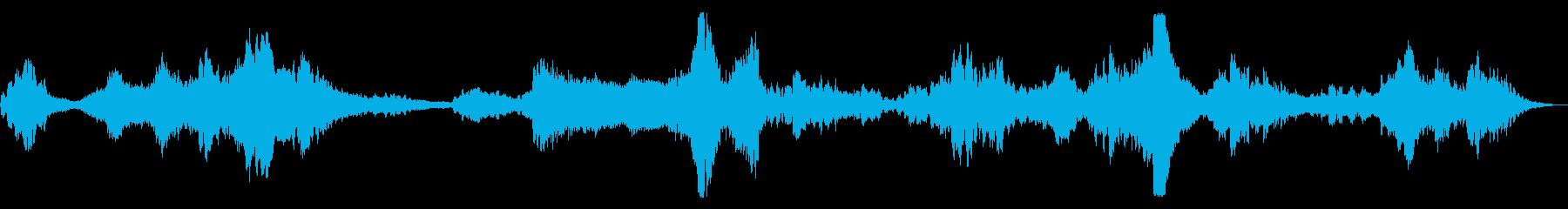コンピュータビープ音大気宇宙ステーションの再生済みの波形