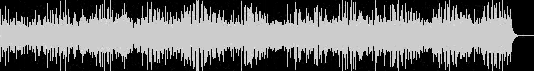 ほのぼのアコースティックでポップなBGMの未再生の波形