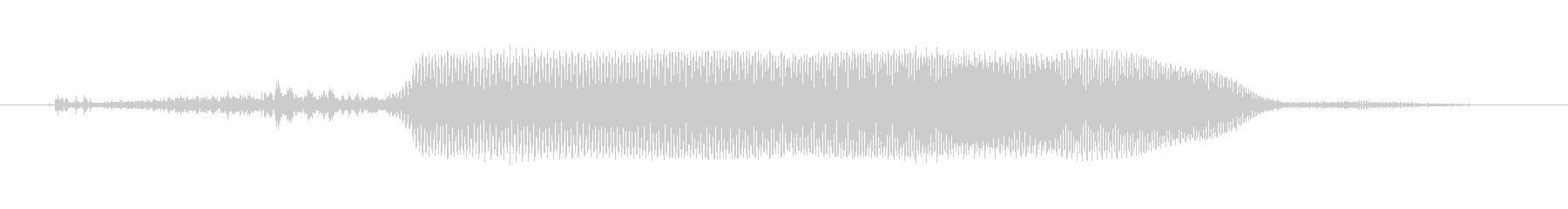 リトルレッドモンスター:Qの未再生の波形