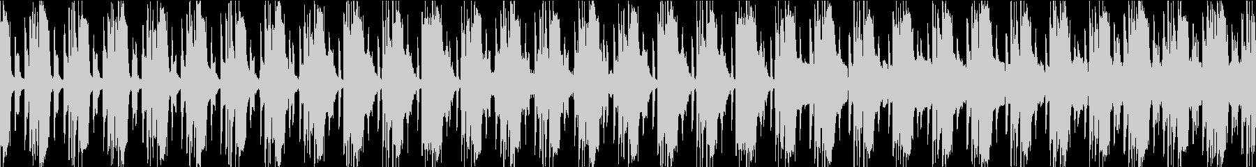 ずっしり響くピアノ&ギターの未再生の波形