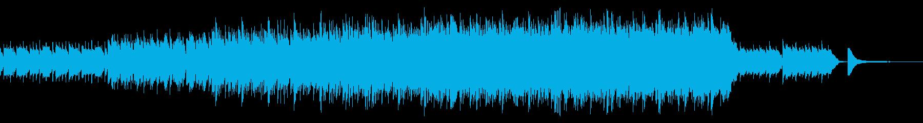煌びやかで透明感あるピアノサウンドの再生済みの波形
