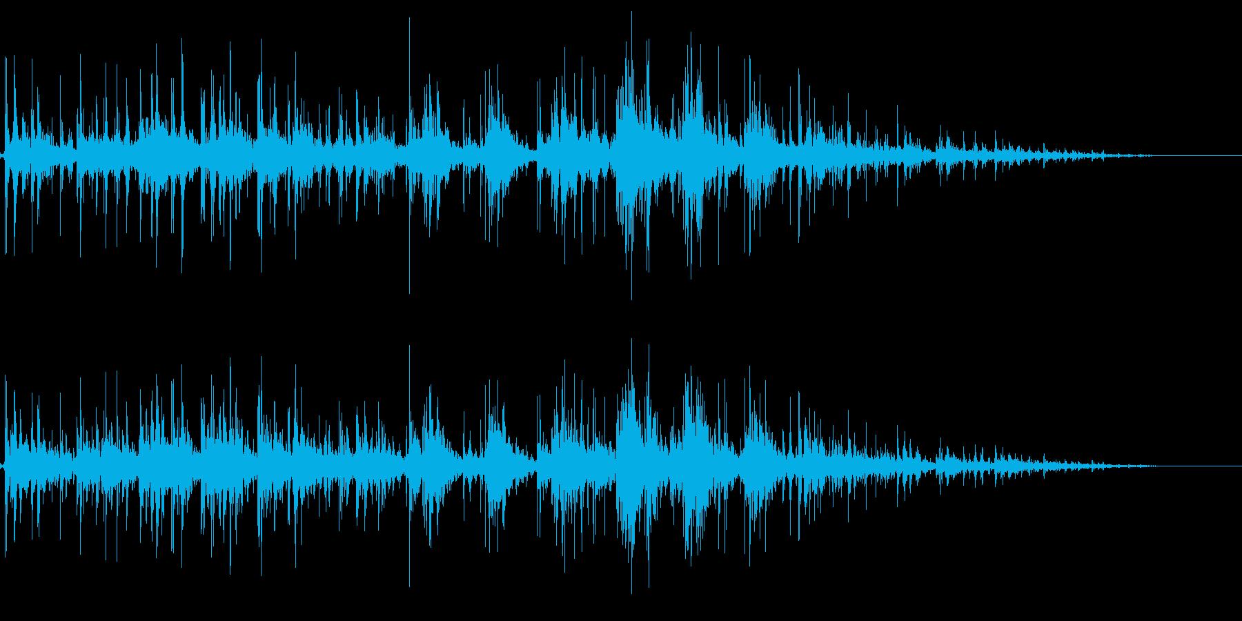 拍手の効果音(小規模/劇場/舞台)13の再生済みの波形