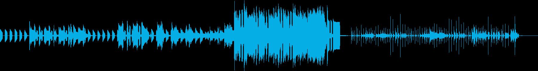 キノコをイメージしたおどけた曲。の再生済みの波形