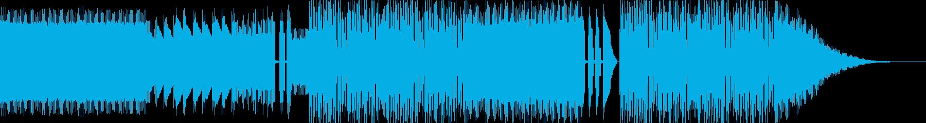 レトロゲームサウンド 戦闘曲 バトルの再生済みの波形