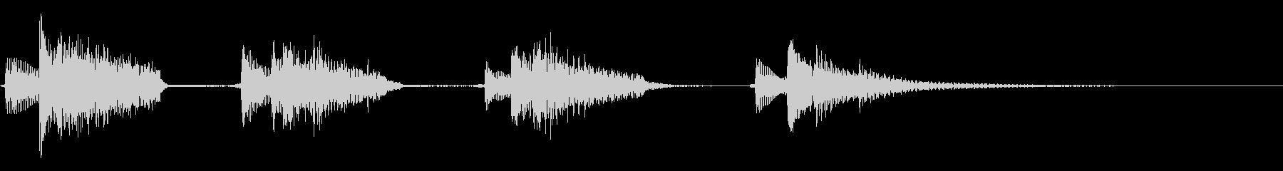 バンジョー:ショートクライムアップ...の未再生の波形