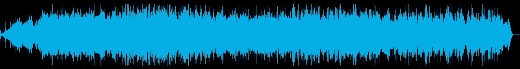 シネマティックで幻想的なIDMの再生済みの波形