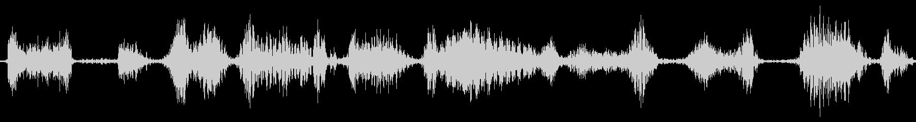 ラジオスキャン6の未再生の波形