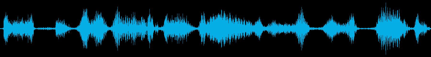 ラジオスキャン6の再生済みの波形