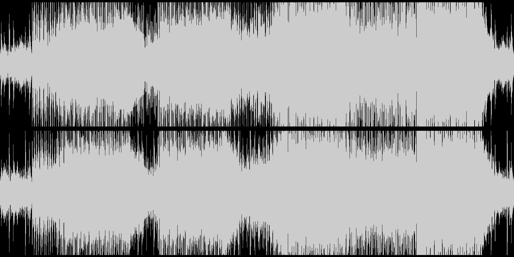 アコギとシンセが印象的トロピカルサウンドの未再生の波形