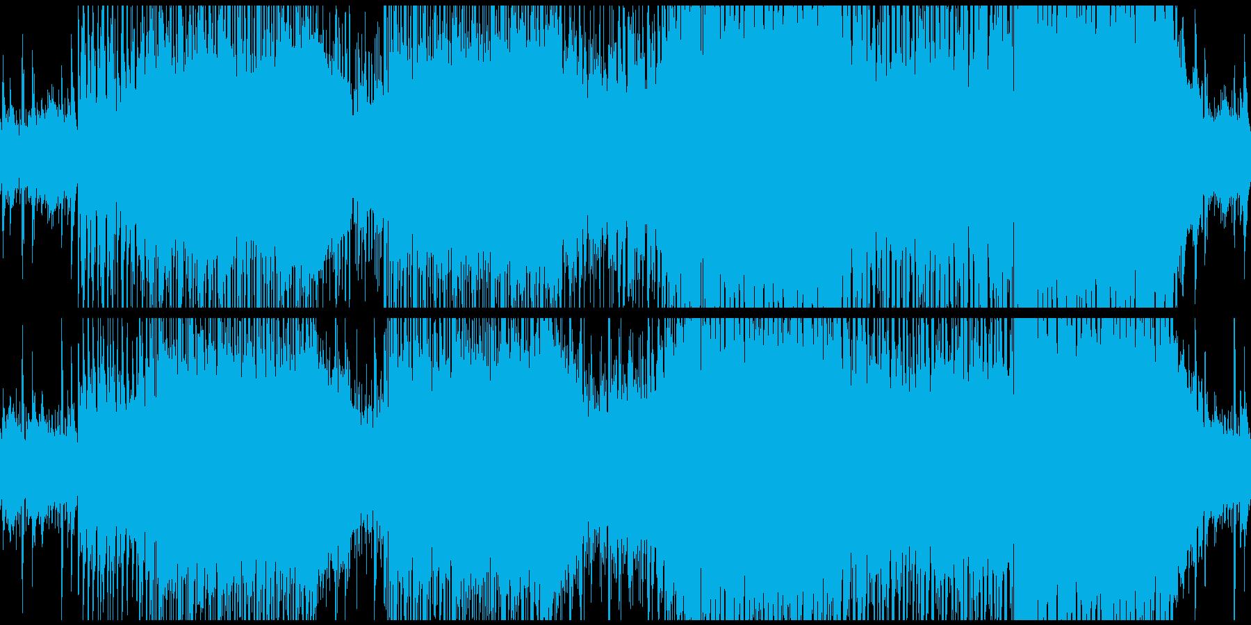 アコギとシンセが印象的トロピカルサウンドの再生済みの波形