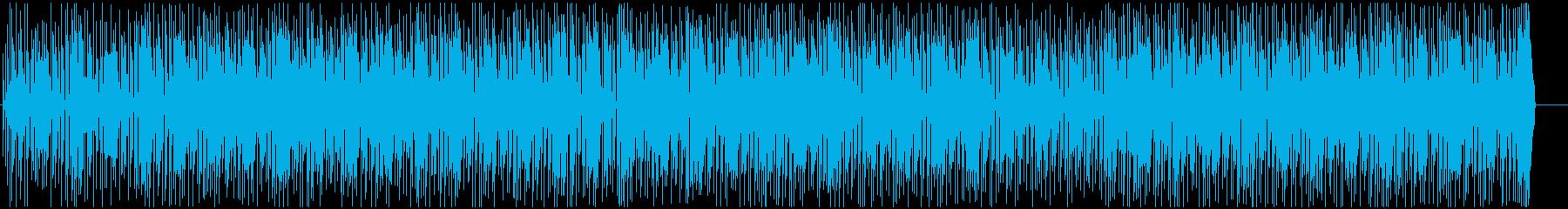わくわくするようなロック調ポップスの再生済みの波形