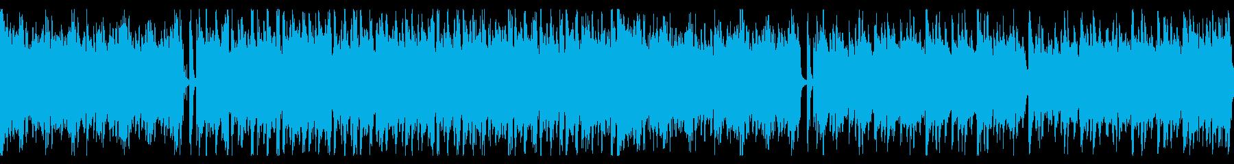 宇宙をイメージした力強いデジタルサウンドの再生済みの波形