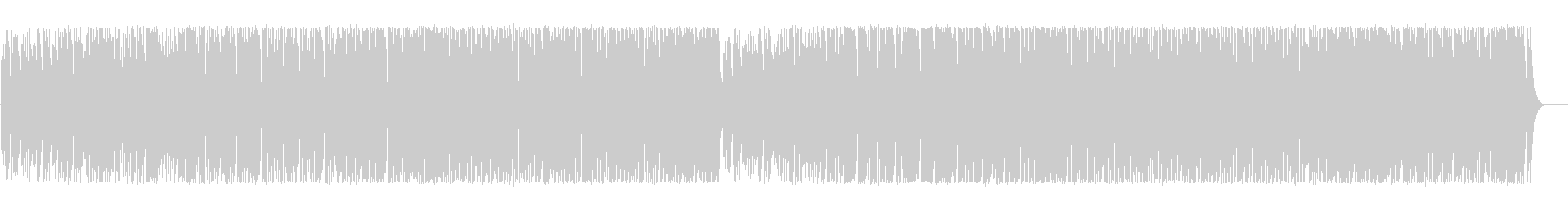 Pop and fun comical BGM's unreproduced waveform